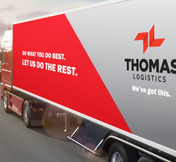 Thomas Logistics Website design and Branding for Logistics companies
